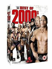 WWE (Wrestling) Best of 2000s BOX 4 DVD in Inglese NEW .cp