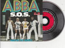 CD CARTONNE CARDSLEEVE 2T ABBA S.O.S. + MAN IN THE MIDDLE   ETAT NEUF