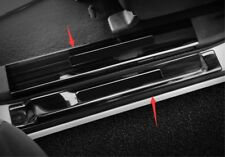 Black Welcome Pedal Door Sill Scuff Panel For Nissan Patrol Y62 2010-2017 2018