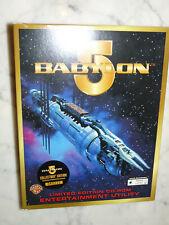 Babylon 5 Entertainment Utility PC CD desktop theme screen saver wallpaper image