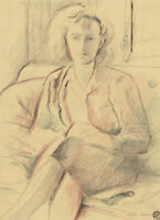 Frank Griffith (1889-1979) - Mid 20th Century Graphite Drawing, Jill Woodfold
