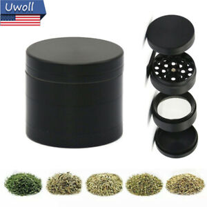 1.5 Inch Tobacco Herb Grinder Spice Herbal Metal Chromium Alloy Smoke Crusher