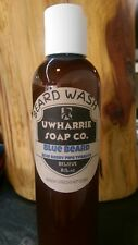 "Uwharrie Soap Beard Wash ""Blue Beard"" Berry Pipe Tobacco Scented! Free Shipping!"
