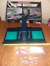 VINTAGE 1989 ELECTRONIC TALKING BATTLESHIP GAME ORIG BOX COMPLETE MILTON BRADLEY
