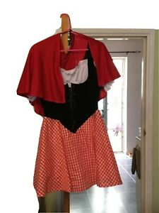 little red riding hood fancy dress adult