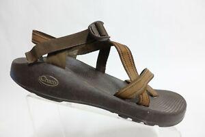 CHACO Z/2 Brown Sz 12 Men Nylon Hiking Sport Sandals