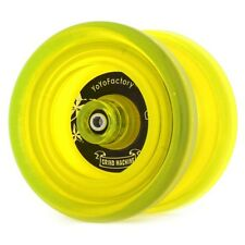 Yellow Grind Machine Yo Yo From The YoYoFactory + 3 NEON STRINGS YE/OR/GRN