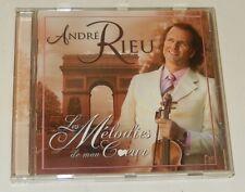 1 CD André RIEU : Les MELODIES de MON COEUR - 2005 : Douce France + Butterfly...