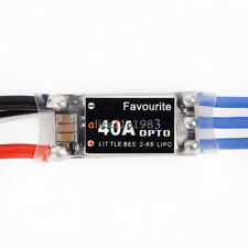 Little Bee 40A 2-6S LiPoly Violent OPTO ESC Electric Speed Control (No BEC)