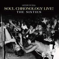 Soul Chronology Live! The Sixties - Various Artists  (4 CD SET, 2020)