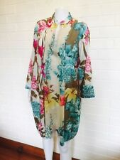 Career Floral Plus Size Tops for Women