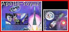 SIERRA LEONE  2000 RUSSIA & USA in SPACE / SOYUZ-APOLLO M/S + S/S   MNH