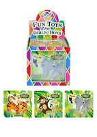 Jungle Animals 25 Piece Mini Jigsaw Puzzle Party Bag Fillers Toys Favours Gift