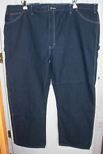 Dickies Carpenter Blue Jeans Size 50x32 100% Cotton Medium Wash (Act 53x 32 1/2)