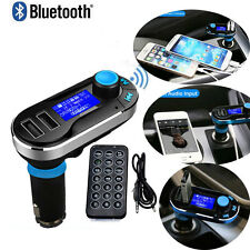Wireless Bluetooth Car Kit MP3 Player Dual USB Charger FM Transmitter SD LCD
