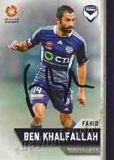 ✺Signed✺ 2015 2016 MELBOURNE VICTORY A-League Card FAHID BEN KHALFALLAH