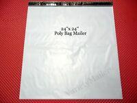 "30 Poly Bag Extra Large Shipping Envelopes 24""x 24"" Self-Sealing Postal Mailers"