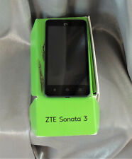 ZTE Sonata 3 Smartphone Cricket Gray Android Phone