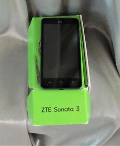 ZTE Sonata 3 Smartphone Cricket Gray Android Phone