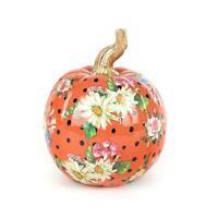 MacKenzie-Childs Flower Market Pumpkin - Small - Orange