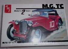 AMT MGTC Sports Car 1/32 Scale Original 1977 Model Kit Sealed