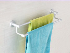 Wall Mounted Bathroom Hardware Towel Rail Holder Hanger Bar Storage Organizer