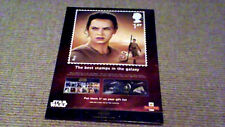 STAR WARS THE FORCE AWAKENS UK PROMO ROYAL MAIL STANDEE 2015 NEW Daisy Ridley