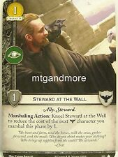 A Game of Thrones 2.0 LCG - 1x Steward at the Wall #133 - Base Set - Second Edit
