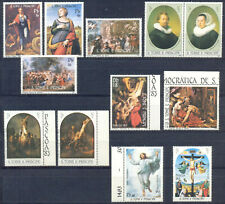 Sao Tome 1983 Paintings. Rubens Rembrandt Rafael, 12 v. Complete. MNH 30.00 Euro