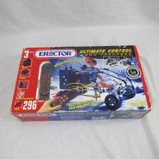 Erector Set Moon Trekkers Vintage Toy Rc #9515 Motor Sound Light 296 Parts Nob