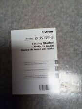 Getting Started Guide Canon PowerShot ELPH 350 HS / IXUS 275 HS 20.2MP Camera