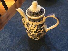 Blue Willow Churchill coffee pot
