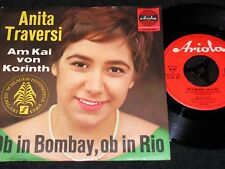 Anita Traversi se in Bombay se a Rio/German SP 1963 Ariola 10230 at