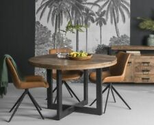 Esstisch Strong Ø 150cm Massivholz Holztisch Dinnertisch Tisch Esszimmertisch
