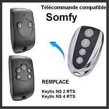 Télécommande compatible pour Portail SOMFY KEYTIS-NS-2-RTS  et -NS-4-RTS