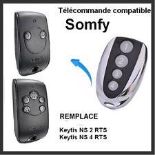 Télécommande compatible SOMFY KEYTIS-NS-2-RTS et NS-4_RTS