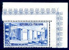 FIERA DI MILANO 1952 - LIRE 60  NUOVO ** ADF