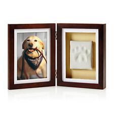 Pearhead Dog or Cat Paw Print Picture Desk Frame Display, Pet Memory & Memorial