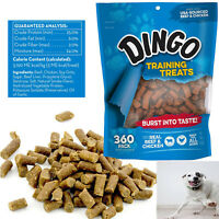 DOG Training Treats SOFT CHEWS Food Snack Real Beef & Chicken Chewy 360pc