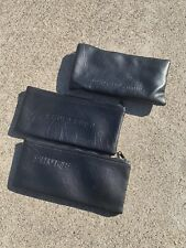 3x Shure (Beta) wireless handheld microphone zippered case bags pouch New