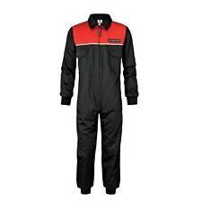 MASSEY FERGUSON CHILDRENS BLACK RED  OVERALLS AGE 2-3 YEARS (02)