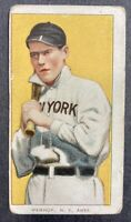 1909-11 T206 Jack Warhop Piedmont Factory No. 25 New York Highlanders
