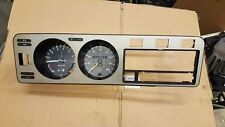 VW Golf MK1 GTI Early Series 1 One SPEEDO CLOCKS Instrument Cluster Swallowtail