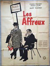 Affiche LES AFFREUX Marc Allégret DARRY COWL Pierre Fresnay 120x160cm*
