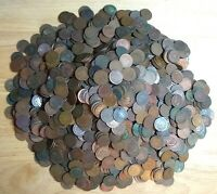(50)Indian Head Cent/Penny-Lot Cull/Junk Coins *MAKE AN OFFER* $ FREE SHIPPING $