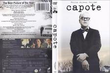 DVD: CAPOTE.......PHILIP SEYMOUR HOFFMAN-CATHERINE KEENER....NEW