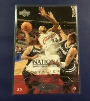 2004 Upper Deck # VIP1 LEBRON JAMES ROOKIE National Sports Convention VIP Cavs