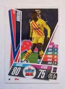 Ilaix Moriba Topps Print Me (RC) UEFA CHAMPIONS LEAGUE