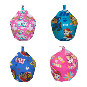 Paw Patrol Kids Pre-Filled Bean Bags Chase Marshall Rubble