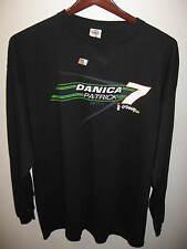 Danica Patrick NASCAR Dale Jr Motorsports Go Daddy Race Car L/S T Shirt XXL NWT